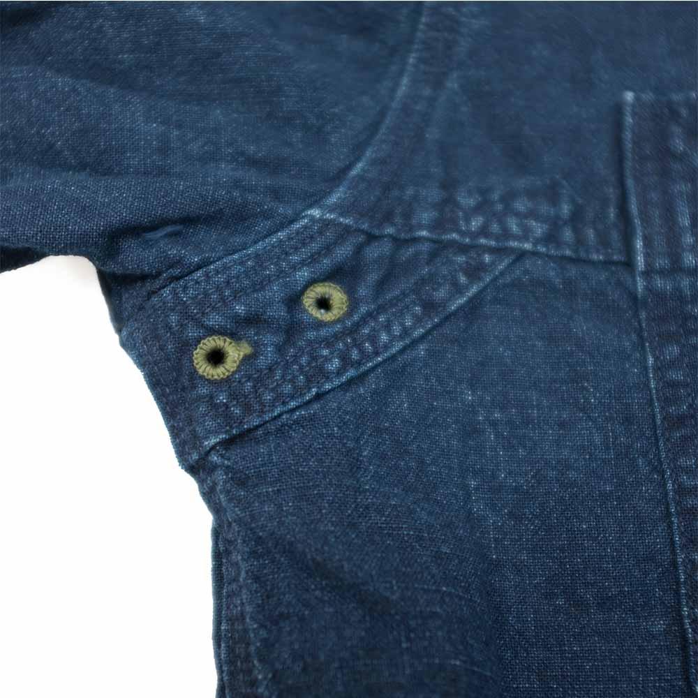 Stevenson Overall Co. Smith Shirt - Indigo 6