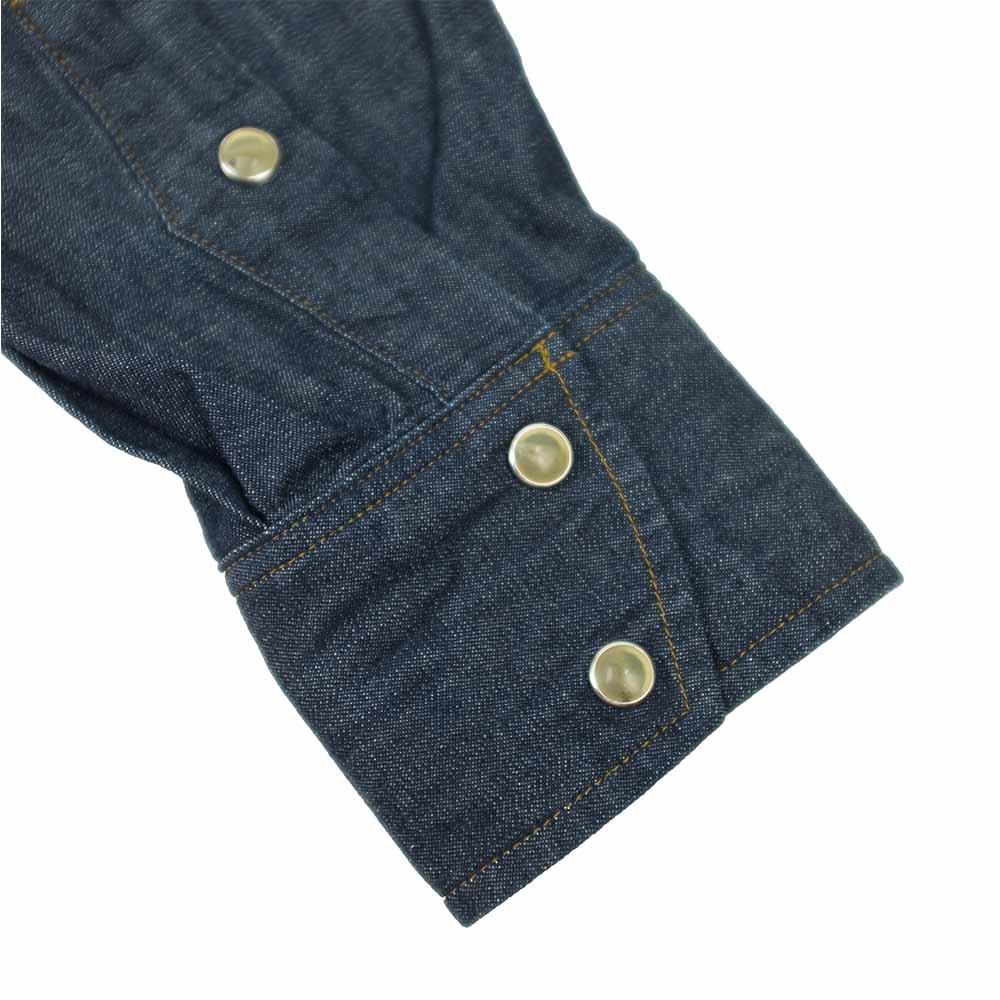Stevenson Overall Co. Trigger Shirt - Indigo 6