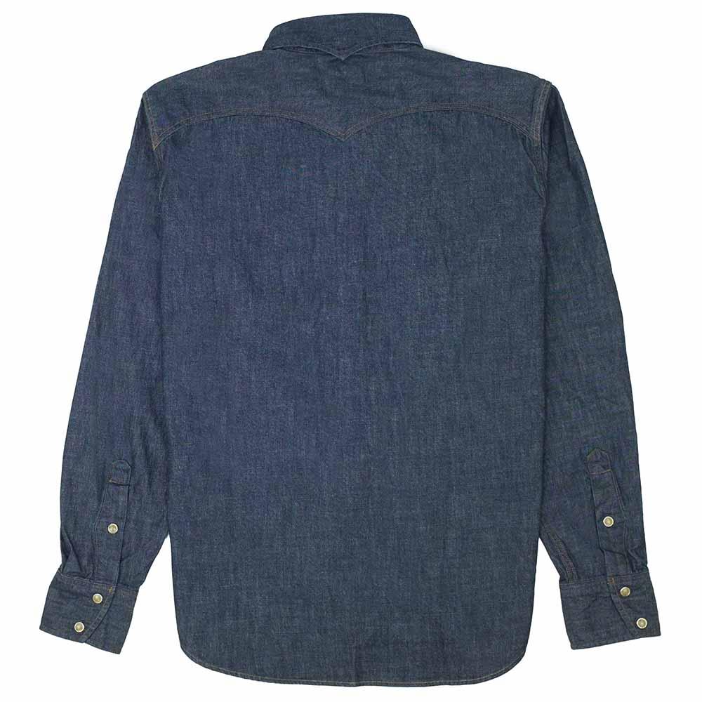 Stevenson Overall Co. Trigger Shirt - Indigo 8