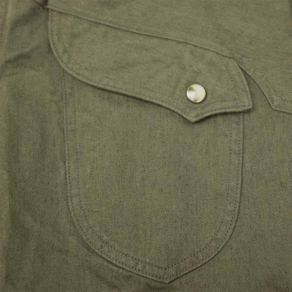 Stevenson Overall Co. Trigger Shirt - Olive 4