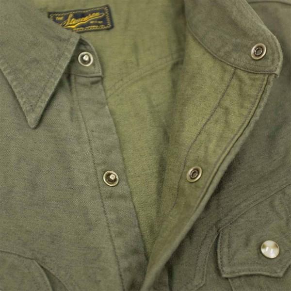 Stevenson Overall Co. Trigger Shirt - Olive 5