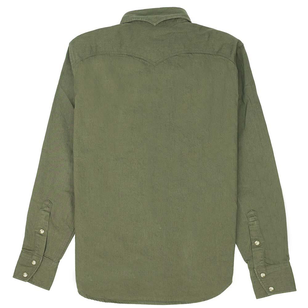 Stevenson Overall Co. Trigger Shirt - Olive 8