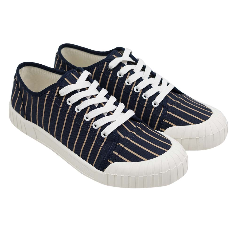 Good News Hurler Low Sneaker - Navy Brown