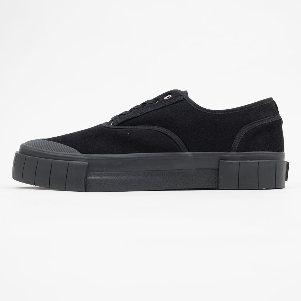 Good News Softball 2 Low Sneaker- Black 6