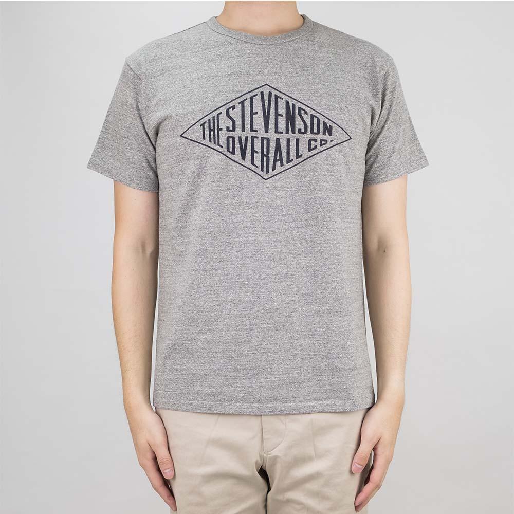 Stevenson Overall Co. Graphic T-Shirt Diamond - Heather Gray