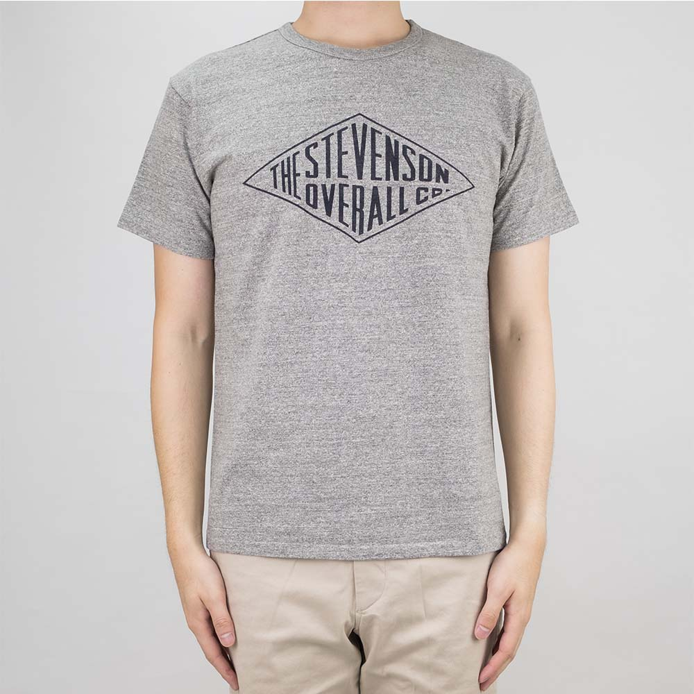 Stevenson Overall Co. Graphic T-Shirt Diamond - Heather Gray