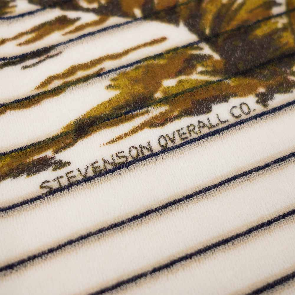 Stevenson Overall Co. Terry Cloth Beach Shirt - Ivory