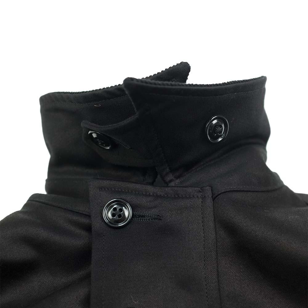 Monitaly Military Half Coat Type B - Vancloth Sateen Black