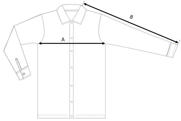 Filippa K Jacket Size Measurement