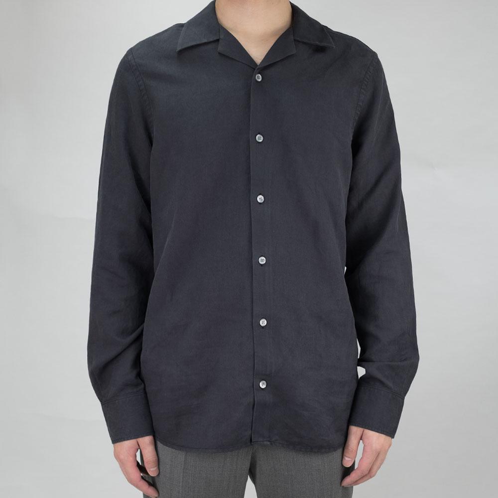 Filippa K Jean-Paul Linen Shirt - Ink Grey