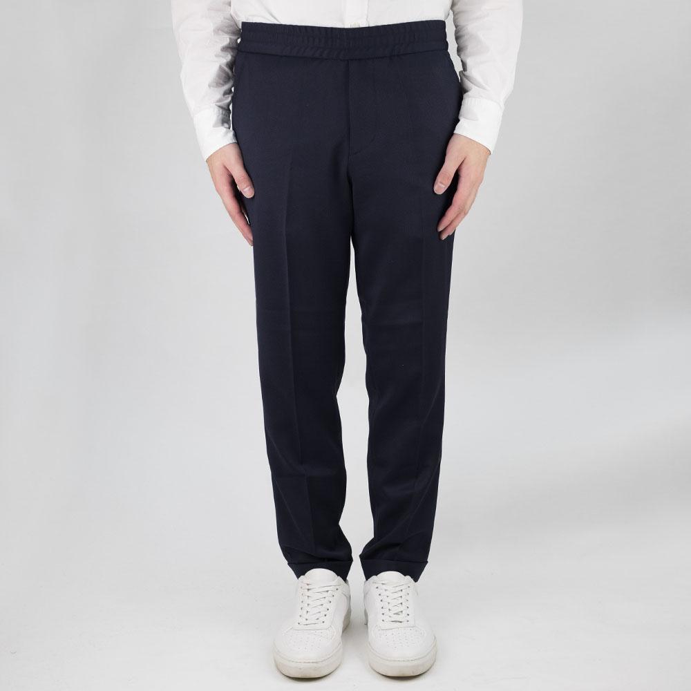 Filippa K Terry Cropped Trouser - Navy