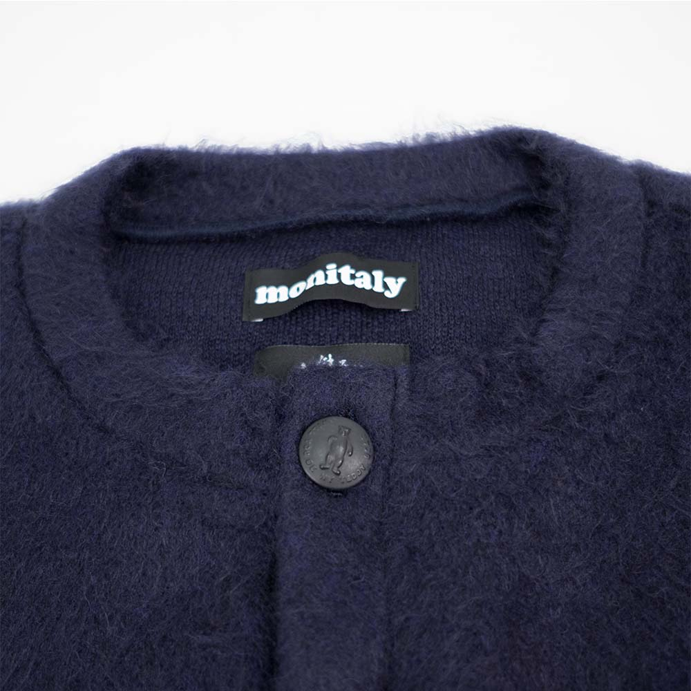 Monitaly Shaggy Tyrolean Jacket - Solid Navy