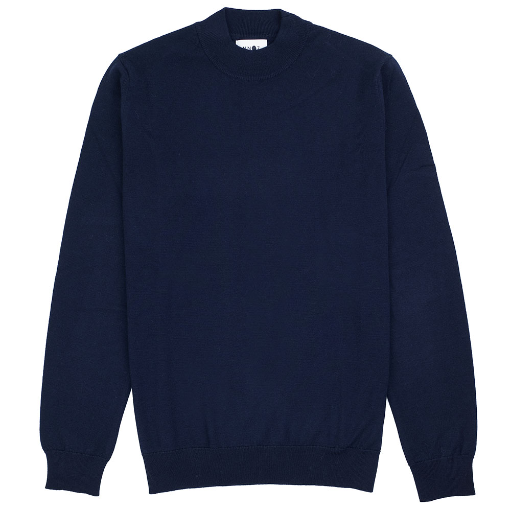 NN07 Martin Merino Sweater - Navy Blue