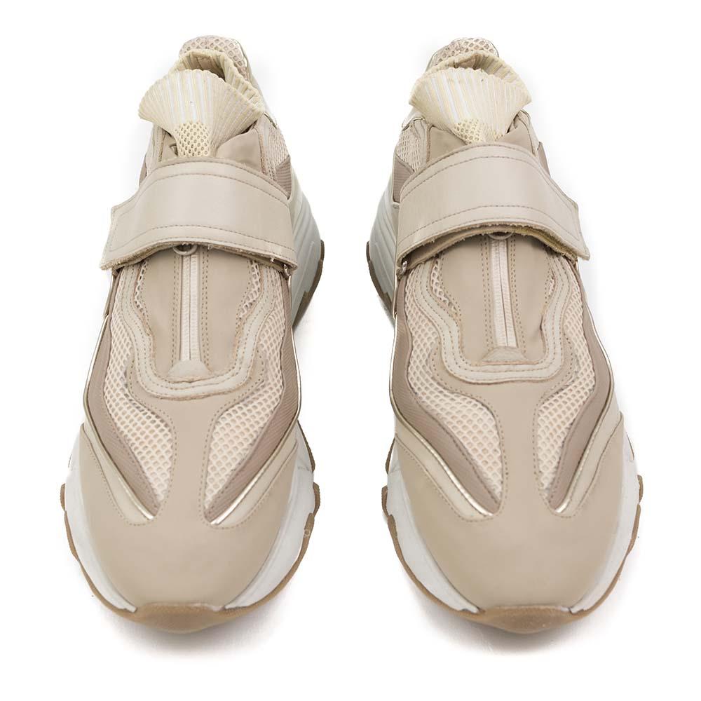 PREGIS Aster Leather Runner Sneaker - Beige