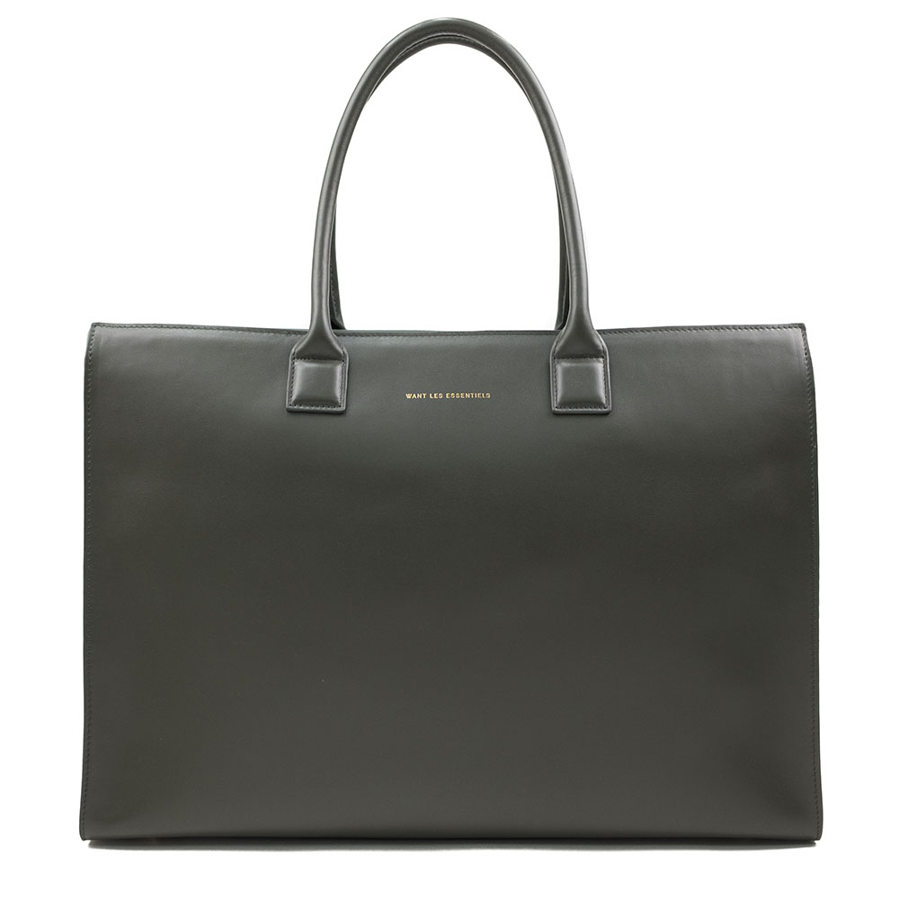 WANT Les Essentiels Dresden Structured Tote - Silt