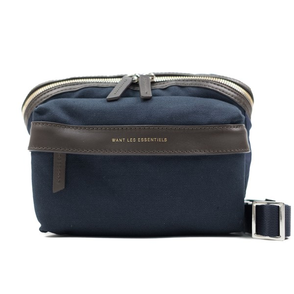 WANT Les Essentiels Tacoma Waist Pack - Navy/Tobacco