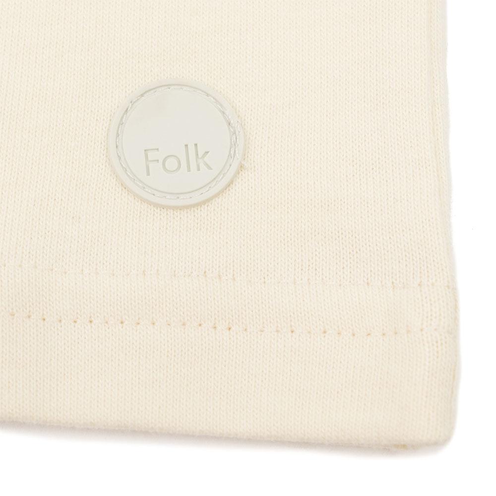 Folk Angle Pocket Tee - Off White