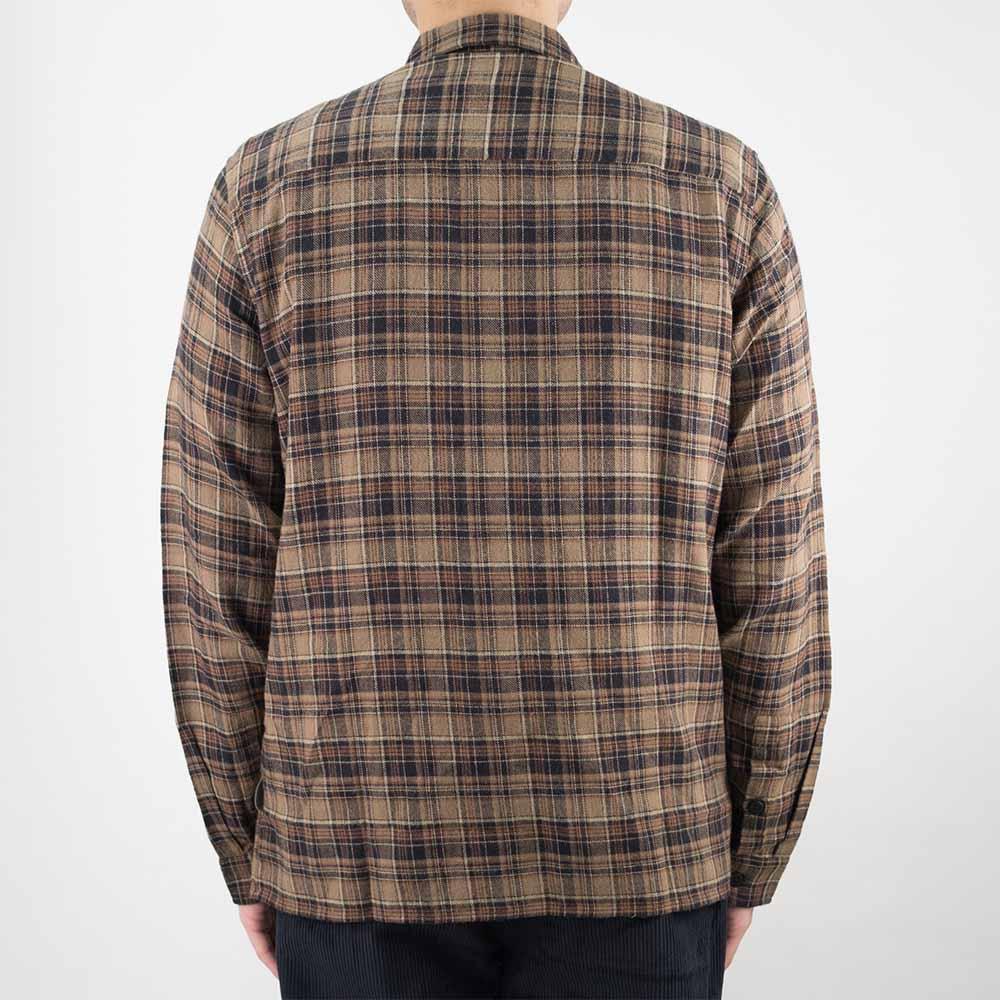Folk Patch Shirt - Brown Multi Check
