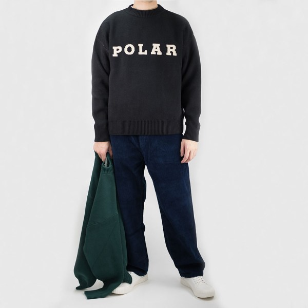 Polar Skate Co. Polar Knit Sweater - Black
