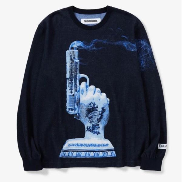 NEIGHBORHOOD Crewneck sweater 1