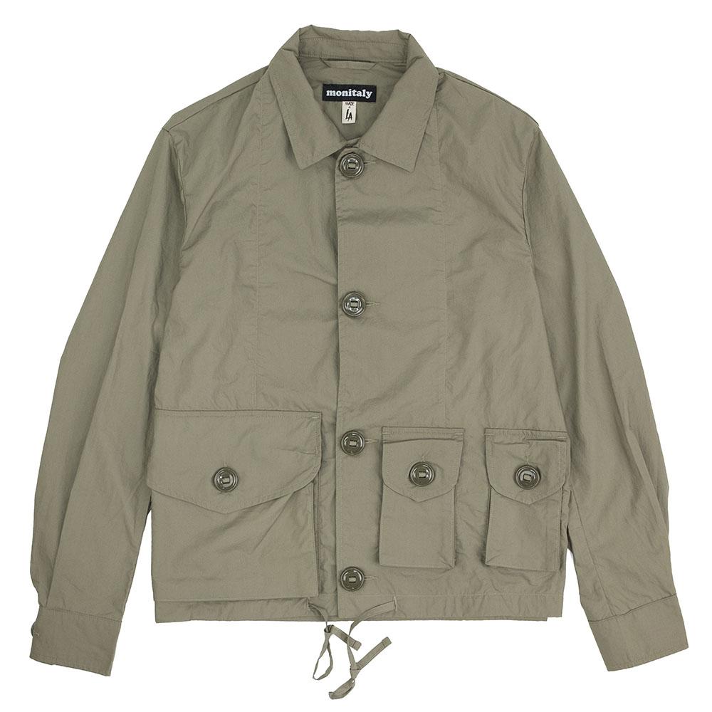 Monitaly Military Service Jacket Type A - Lt Poplin Sage