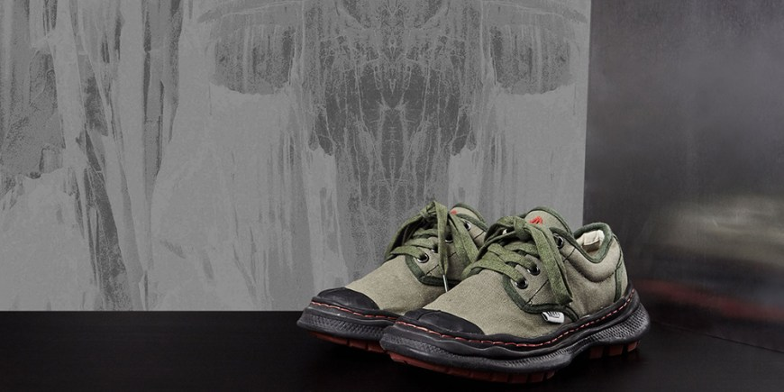 Nigel Cabourn X Mihara Army Combat Shoes blog