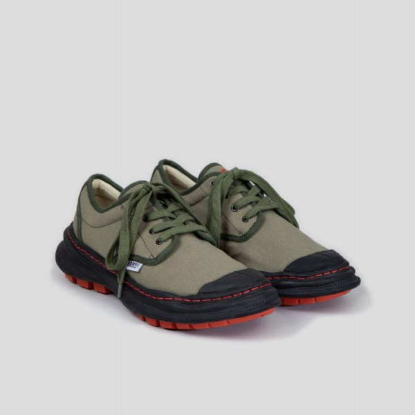 Nigel Cabourn X Mihara Army Combat Shoes