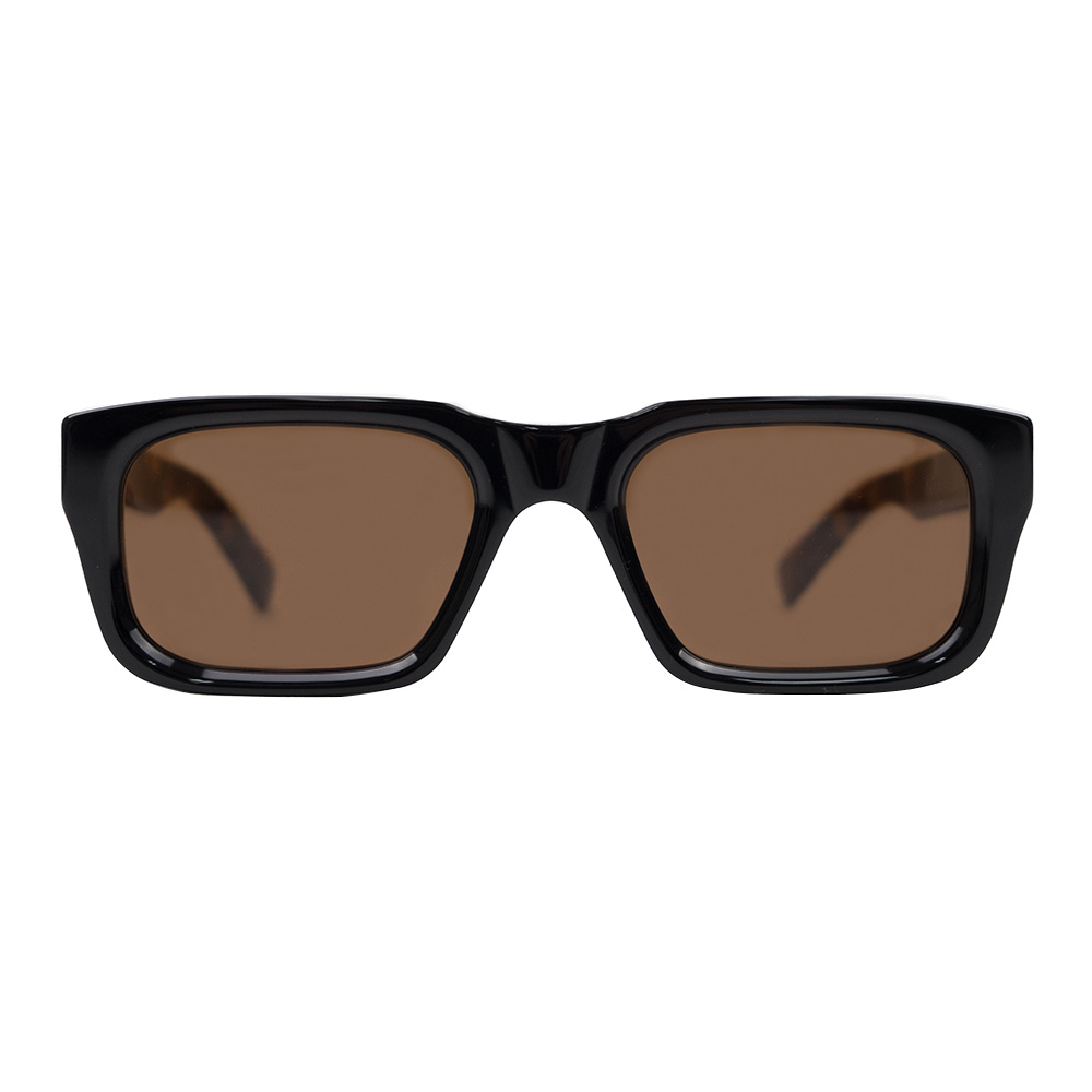 RETROSUPERFUTURE Augusto Sunglasses - Black Mark