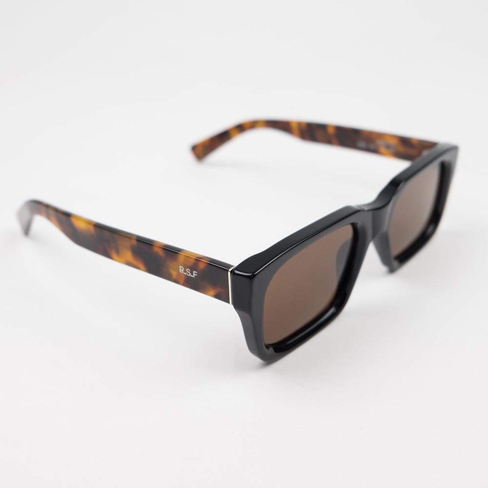 RETROSUPERFUTURE Augusto Sunglasses - Black Mark