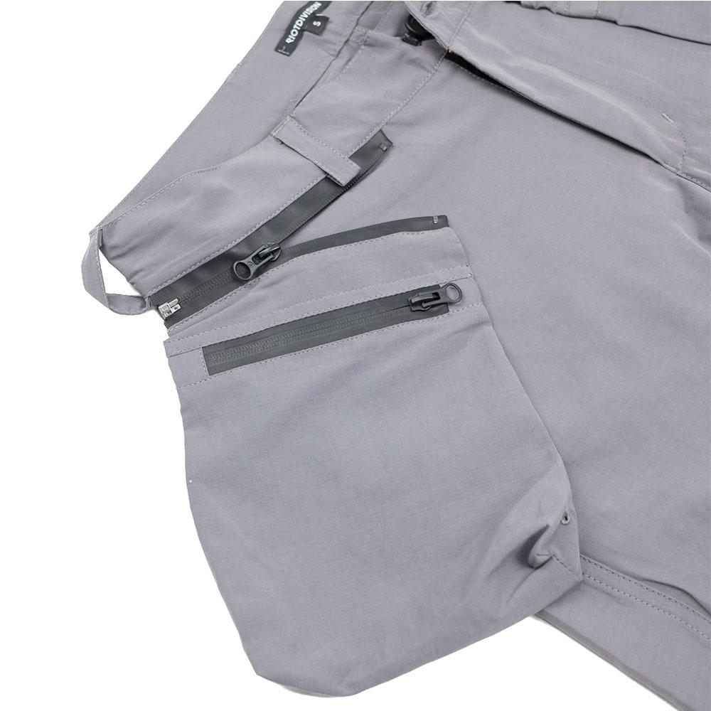 Riot Division Samurai Pockets Shorts Gen2.0 - Grey