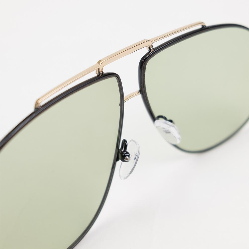 Le Specs Le Pear Sunglasses - Gold and Black
