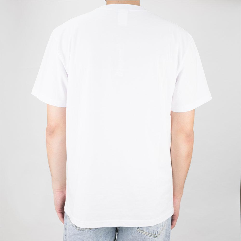 Thrasher (Japan) Hometown Ribbon S/S T-Shirt - White