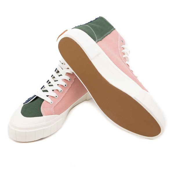 Good News Palm Sneaker - Navy / Green / Pink