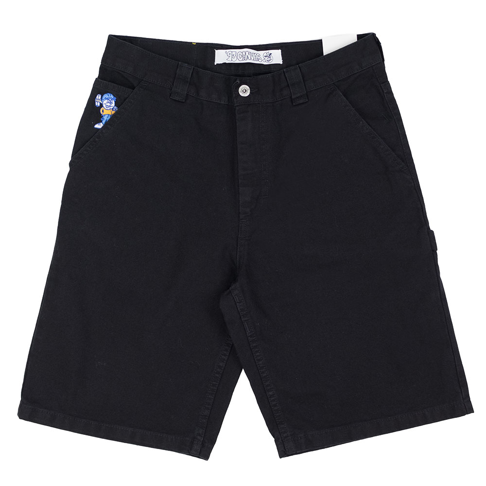 Polar Skate Co. '93 Canvas Shorts - Black