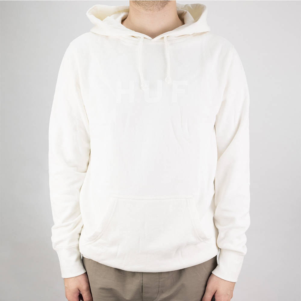 HUF OG Logo Pullover Hoodie - Unbleached