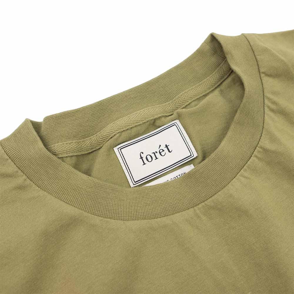 forét Fish T-Shirt - Olive