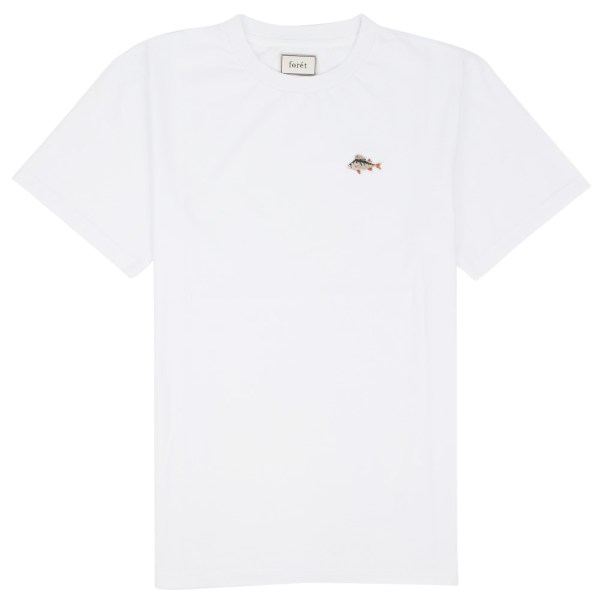 forét Fish T-Shirt - White