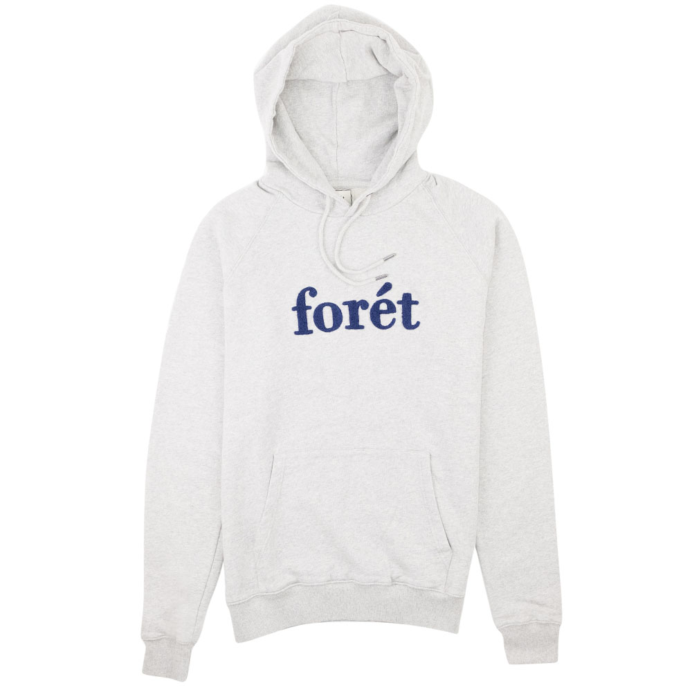 forét Maple Hoodie - Light Grey/Navy