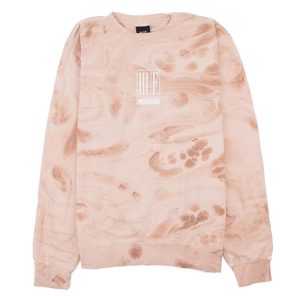 HUF Elias Crewneck Sweatshirt - Plastic Pink