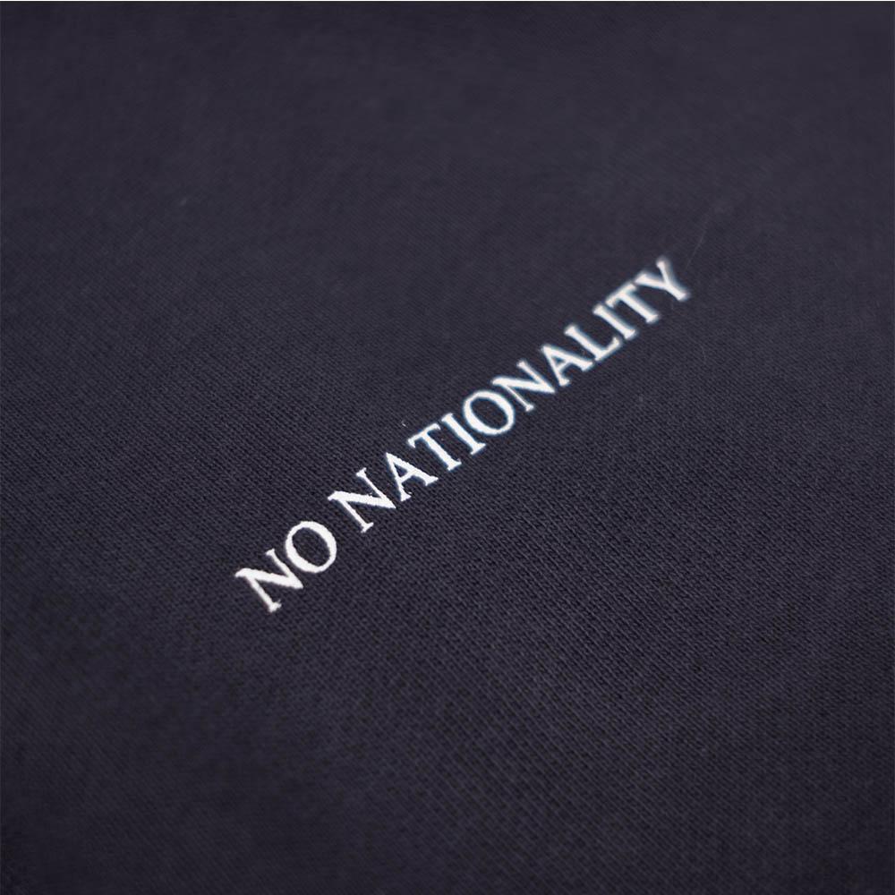 NN07 Barrow Print Hoodie - Navy