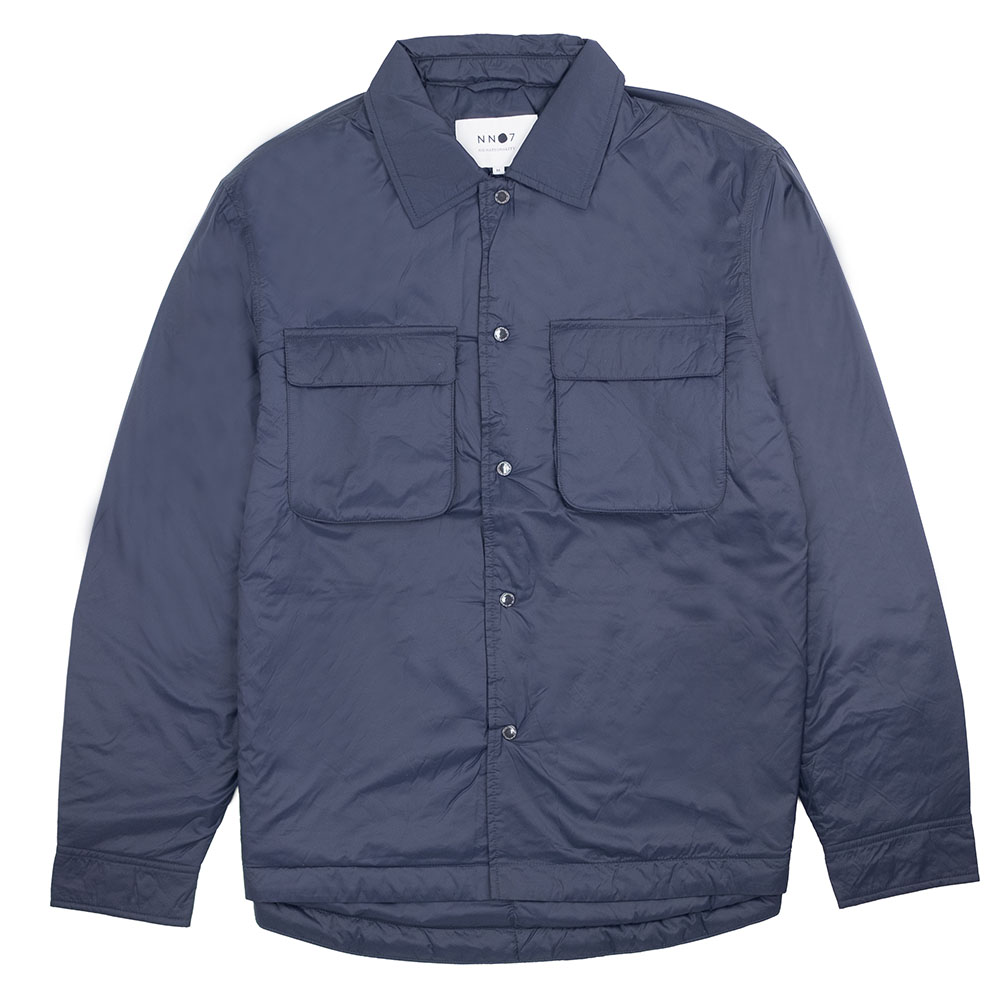 NN07 Columbo Overshirt - Navy