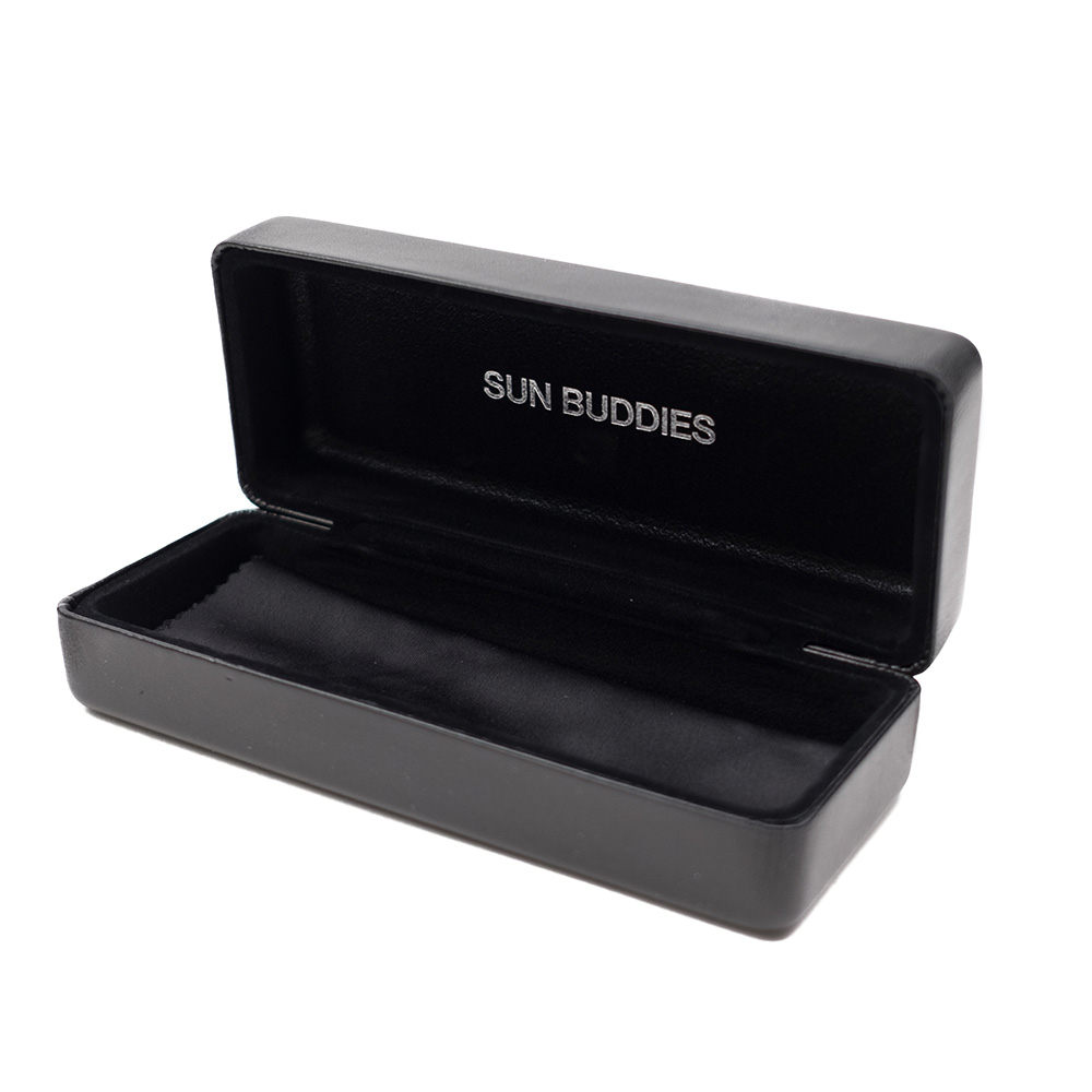 Sun Buddies Leather Hard Case