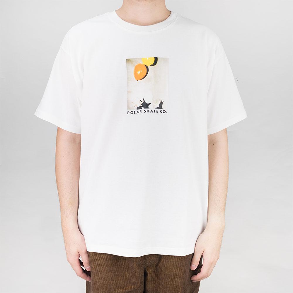 Polar Skate Co. Balloon Tee - White