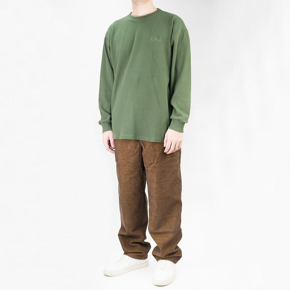 Polar Skate Co. Shin Longsleeve - Hunter Green
