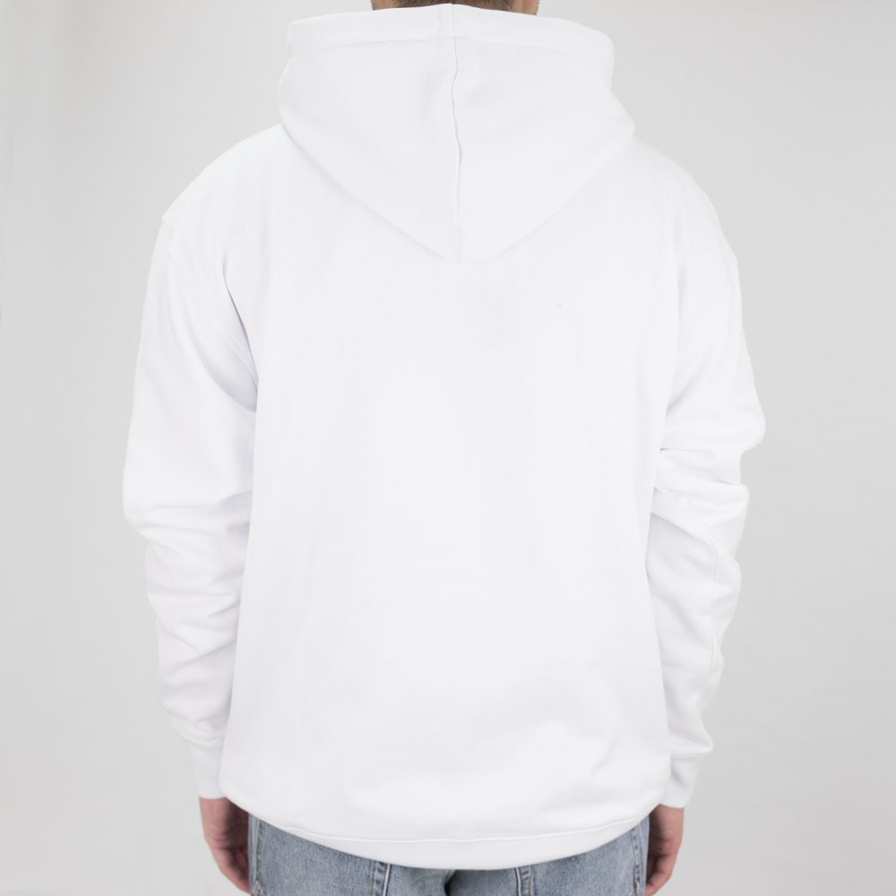 Thrasher (Japan) Flame Patriot Hooded Sweatshirt - White 3