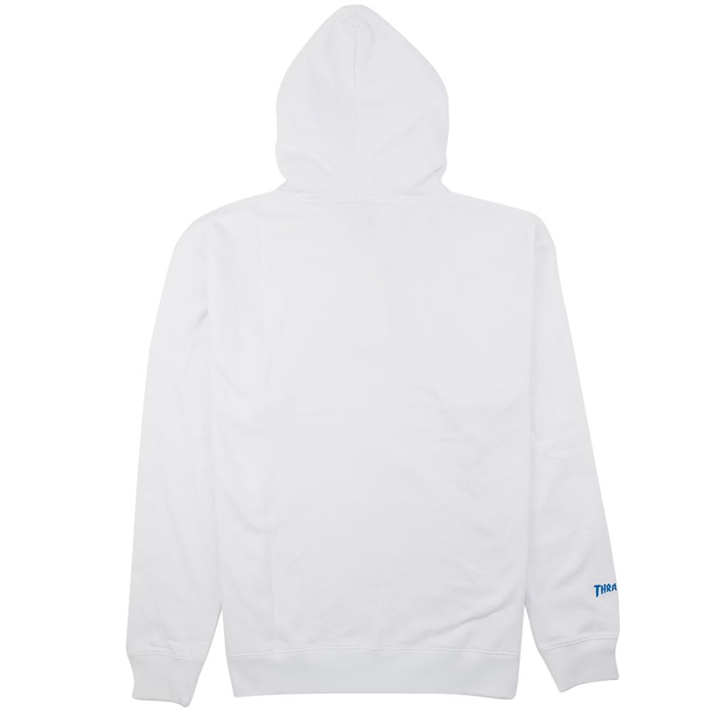 Thrasher (Japan) Flame Patriot Hooded Sweatshirt - White 6