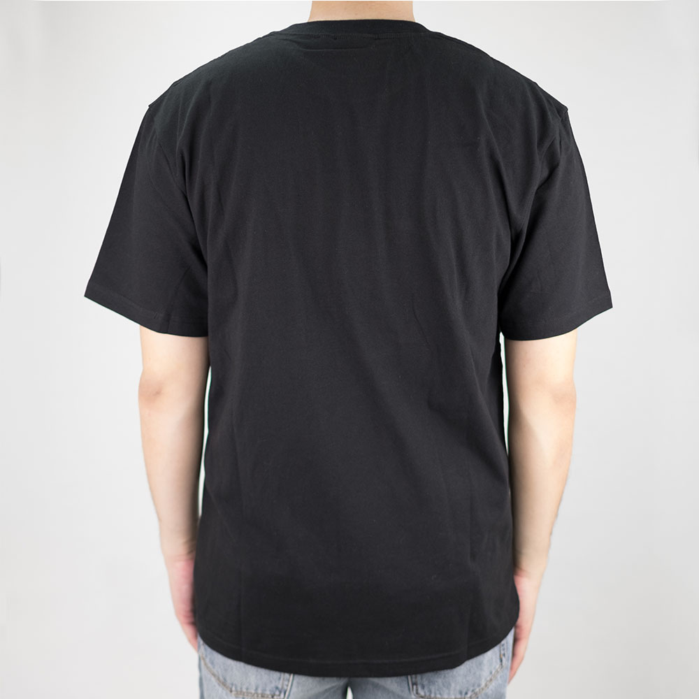 Thrasher (Japan) Flame Patriot S-S T-Shirt - Black 3