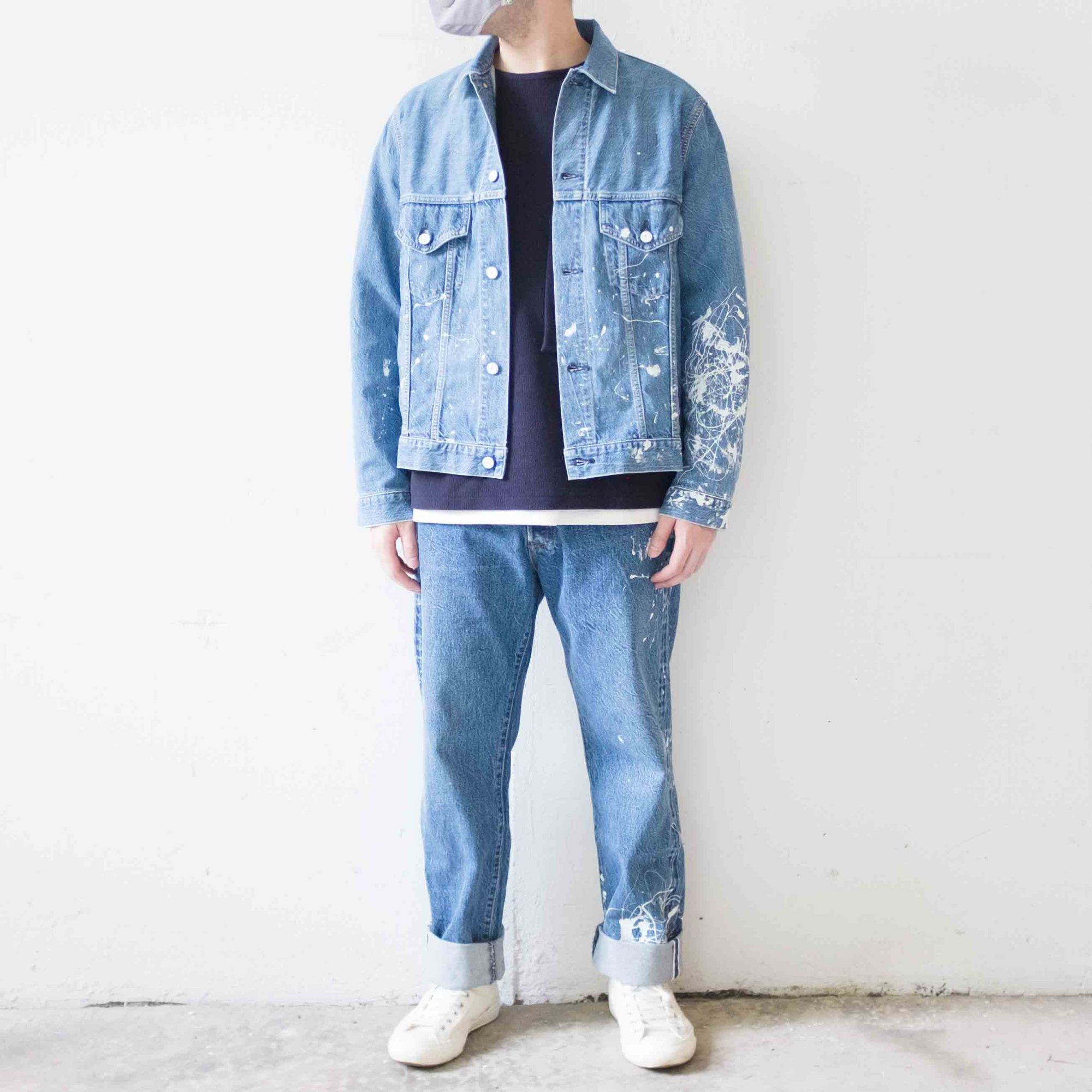 Kuro denim jacket x denim jean