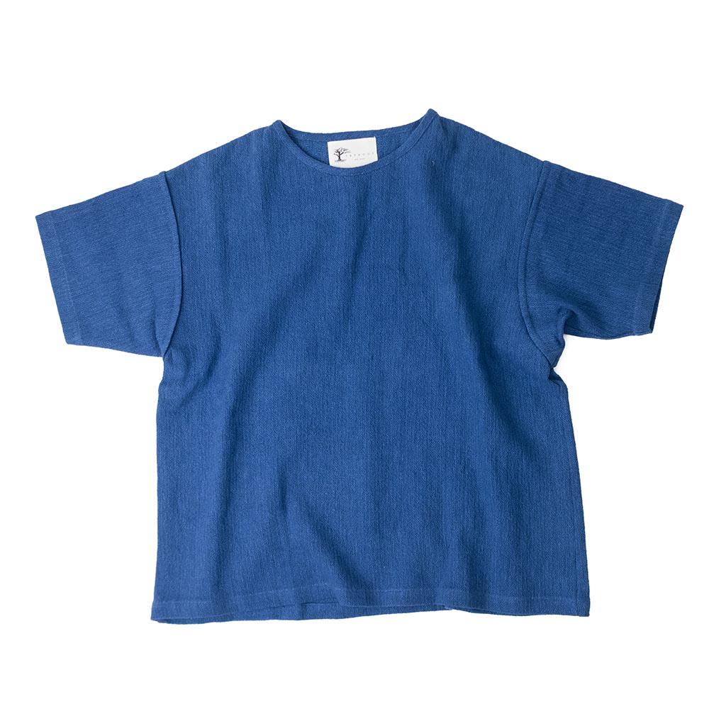 Taproot Hand Dyed Short Sleeve Tee - Indigo