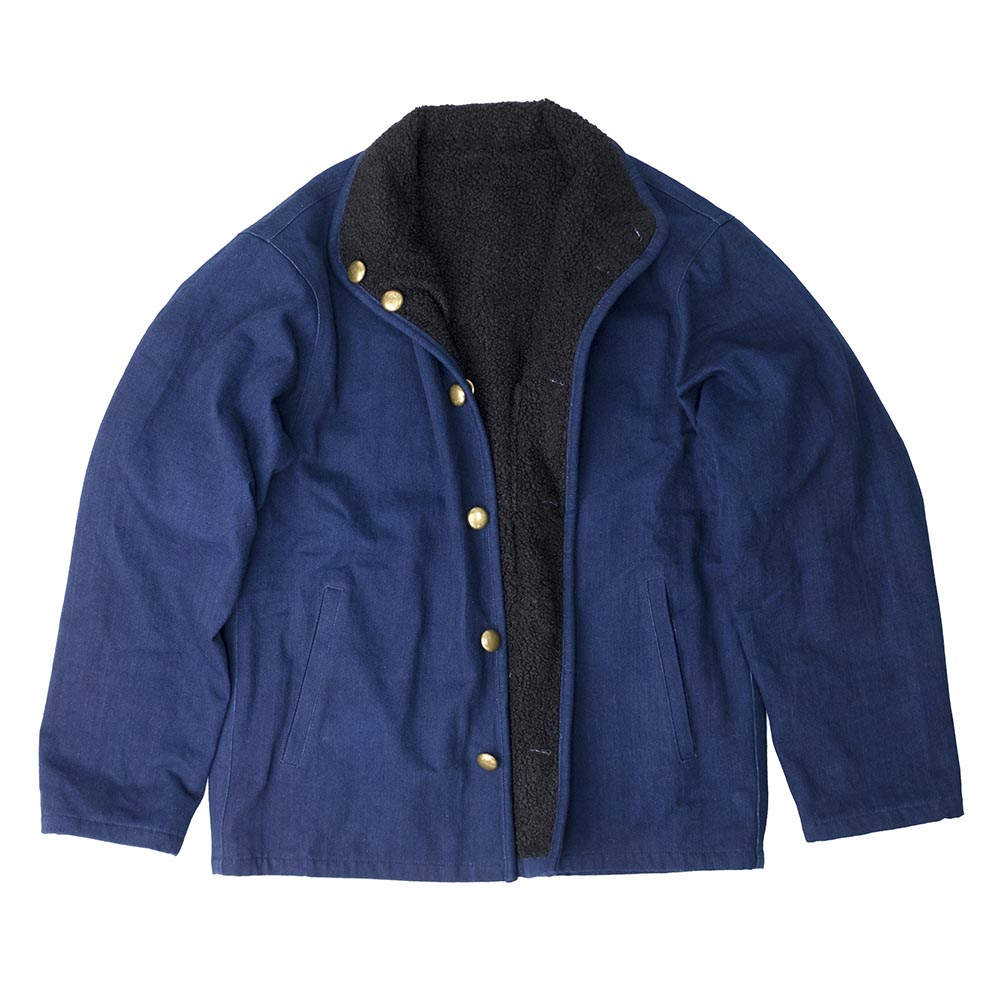 Taproot Hand Dyed Reversible Jacket - Indigo